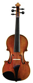 D. Rickert Fat Strad III 5-String Violin front