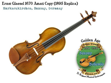Ernst Glaesel 1670 Amati Copy (1895 Replica)