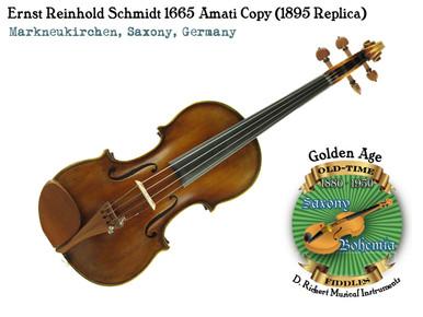 Ernst Reinhold Schmidt 1665 Amati Copy (1895 Replica)