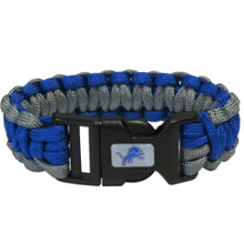 Detroit Lions Survival Bracelet NFL Football FSUB105