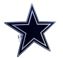 Dallas Cowboys Logo Cutout Hitch Cover NFL Football FTHS055S