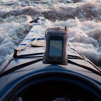 Dry Doc Landing Pad: Mounted on Kayak