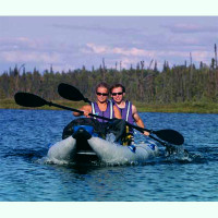 PaddleSki Catamaran Inflatable Kayak