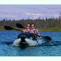 PaddleSki Catamaran Kayak - 14' Multifunctional Inflatable Kayak