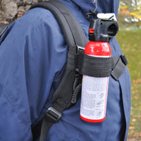 Bear Spray Tether System Chest Mounted
