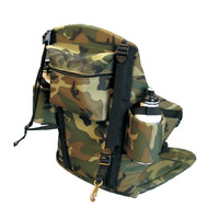 Deluxe Big Back Kayak Seat Camo Rear View