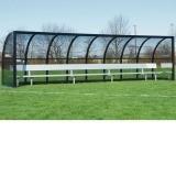 Kwik Goal Team Shelter - 6.5' H x 24' W x 5' B
