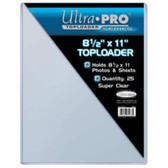 "Ultra Pro #81433 8.5"" x 11"" Toploader"
