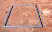 4' X 6' Heavy-Duty Baseball Batter's Box Template