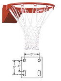 First Team Competition Economy Breakaway Basketball Goal