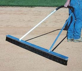 7' Wide Professional Drag Broom with Leveling Edge