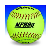 "Wilson A9016BSST 12"" High School Game Softballs"