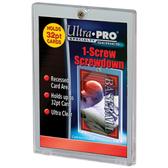 1 - Ultra Pro #81139 1-Screw Screwdown Trading Card Holder (Recess)