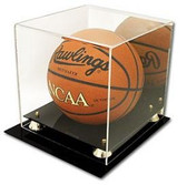 Deluxe Acrylic Basketball Display ( With Mirror)
