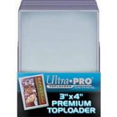 "Ultra Pro #81145 3"" x 4"" Top Loaders  (25 per pack)"