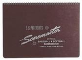 C.S. Petersons Original Scoremaster Baseball & Softball Scorebook