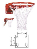 FT194TA First Team Premium Competition Tube Tie Breakaway Basketball Rim