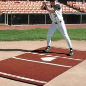 Bermuda Sports Turf 6' x 12' Baseball Home Plate Mat (Clay)