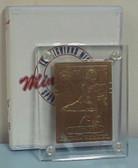 Highland Mint Michael Irvin 1989 Topps Bronze Rookie Card #383