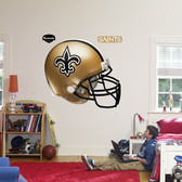 New Orleans Saints Helmet Fathead