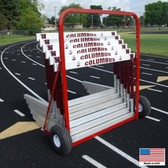 Blazer Two Wheel Hurdle Cart