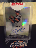 2014 Bowman Platinum RC Auto Carlos Correa NL ROY! Houston Astros