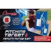 Champion Sports Pitching Target & Return Throw Set