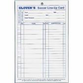 Glover's Soccer Line-Up Cards