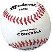 Soft Safe Corkball Style Mini-Baseballs