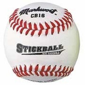 Soft Safe Stickball Style Mini-Baseballs (White)