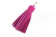 Fuchsia Large Calf Hair Tassel