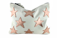 Superstar Leather Statement Clutch