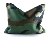 Camo Statement Clutch
