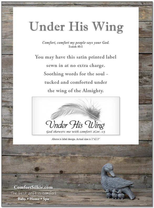 Under His Wing - Comfort Silkie