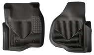 Husky Liners X-Act Contour Front Molded Floor Liners | Ford Super Duty 2011-2014
