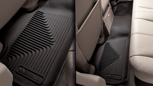 Rear Custom Molded Floor Liners By Husky Liner