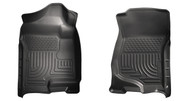 18201 | Black 2007-2014 Silverado and Sierra WeatherBeater Floor Mats