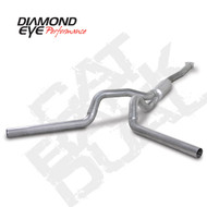 Diamond Eye 2001-2005 Duramax Cat Back Dual Exhaust Systems
