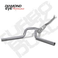 Diamond Eye 2001-2007 Duramax Turbo Back Dual Exhaust Systems