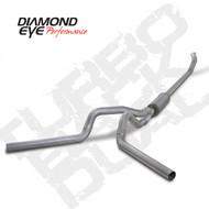 Diamond Eye 2003-2004 Cummins Turbo Back Dual Exhaust