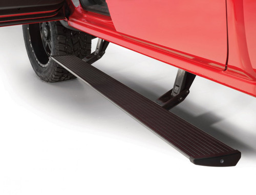 76134-01A | AMP Research Powerstep Running Boards | Ford Super Duty