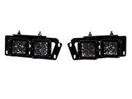 2010-2014 Ram 2500|3500 Front Bumper Fog Light Replacement Mount