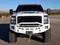 """Front Fusion Bumper Prefrunner with 6"""" E-Series and SR-Series Fog Lights Horizontal"""