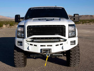 "Front Fusion Bumper Prefrunner with 6"" E-Series and SR-Series Fog Lights Horizontal"