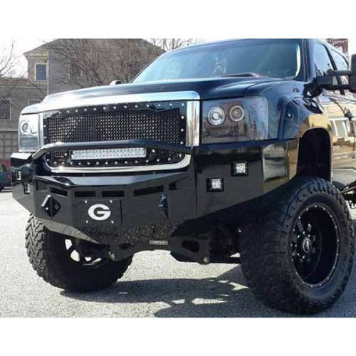 Fusion Front Bumper Pre-Runner Style with Dually Fog Lights