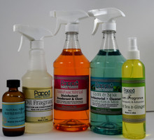 Green Sweet Home include 1 Antibacterial 1 Gym & Spa 1 Oil Fragrance for A/C Filter 1 Room Fragrance 1 Refresh Oil