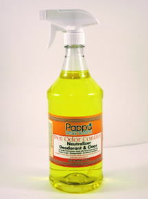 Safely eliminates odors Safe for use directly on pets, carpeting, cages, litter pans, bedding and more Removes odors completely leaving a fresh-clean scent Ready to use. Biodegradable