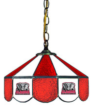 "Alabama Crimson Tide 14"" Swag Hanging Lamp with Elephant Logo"