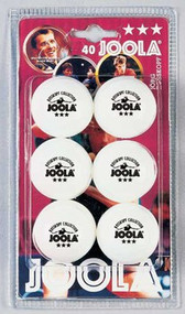 Joola Table Tennis Balls - Rossi 3-Star -  Package of 6