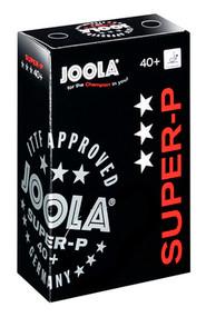 Joola Table Tennis Balls - Super-P 3-Star Box of 6